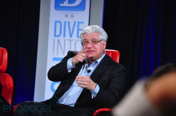 All Things D posts full Mike Lazaridis video from D: Dive Into Mobile