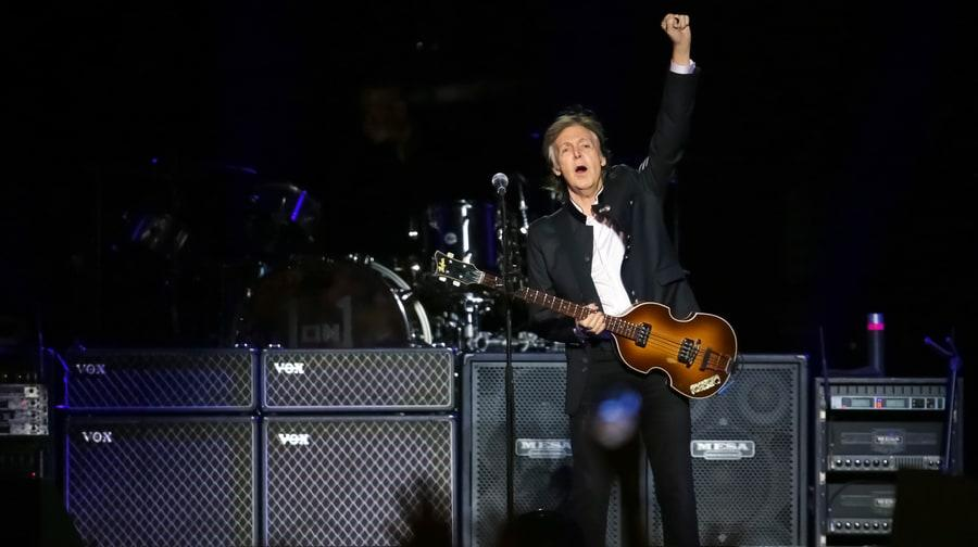 Paul McCartney Unleashes Maccamania Live In New Jersey