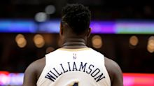 Pelicans' star rookie Zion Williamson out vs. Wizards