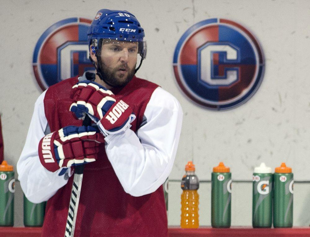 Vanek in for Canadiens; Rangers' Brassard sits