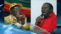 Breaking News Headlines: Zimbabwe Officials: Mugabe Wins With 61 Percent
