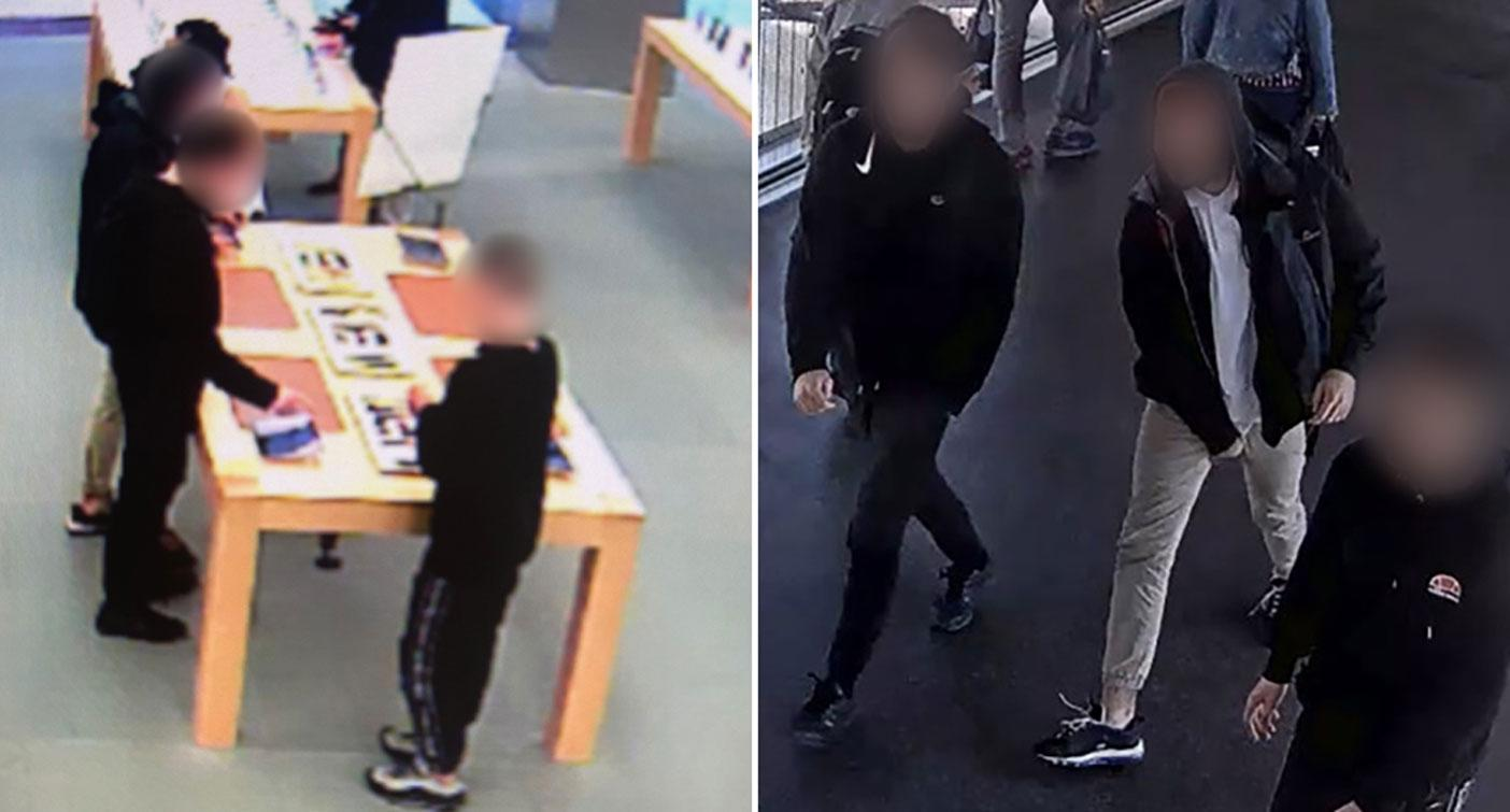 NSW gang ransack Apple stores, stealing 29 Apple watches