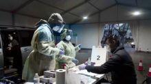 U.S. hospitals strained amid COVID-19 surge