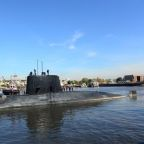 Powerful winds and waves hinder search for Argentine submarine