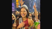 Así celebran a Andrea Meza por ganar Miss Universo