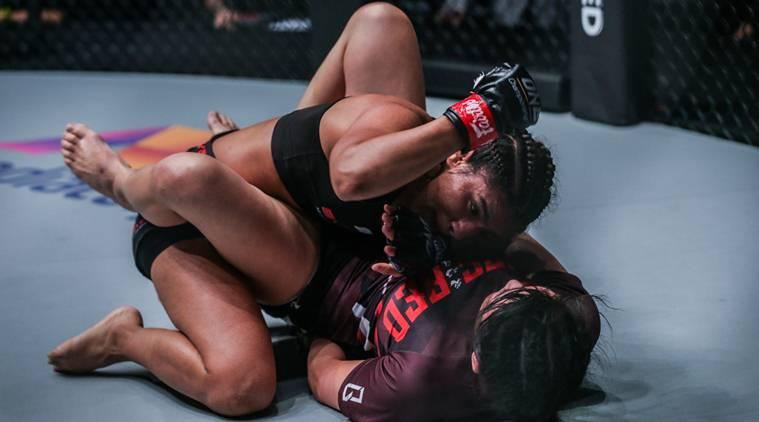 Ritu Phogat comes out on top again, takes One Championship MMA record to 2-0