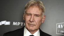 Harrison Ford plays the hero in real-life car accident