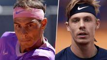 Qué canal transmite Rafael Nadal vs. Denis Shapovalov por el Masters 1000 de Roma