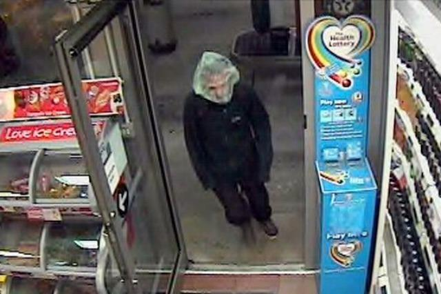 <p>In June 2014, Jamie Neil, a 41-year-old from Bethel in Cornwall, was jailed for robbing a petrol station in St Austell.</p>  <p>His plan to disguise himself by putting a plastic bag over his head would have worked better if he hadn't chosen a completely transparent one.</p>