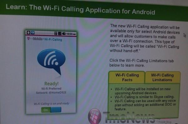 T-Mobile to bundle Wi-Fi Calling app with future Android devices?