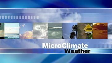 MicroClimate Forecast: Wednesday, May 8, 2013 (Morning)