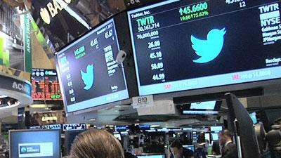 Wall Street Tweets Its Approval on Twitter IPO