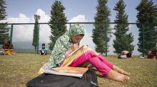 Kashmir's open-air classes offer stunning solution to lockdown