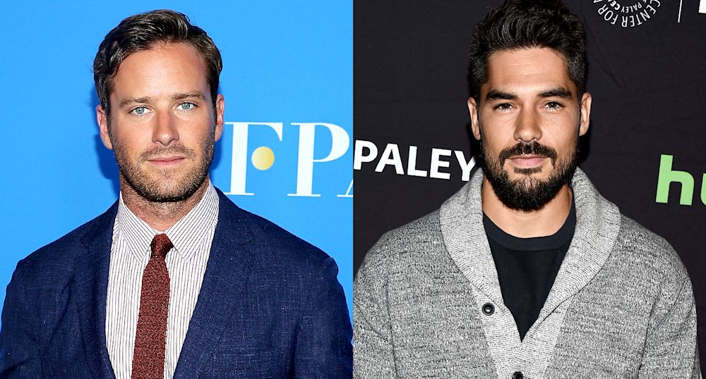 Armie Hammer and D.J. Cotrona were cast as Batman and Superman in 'Justice League: Mortal' (Photo: Getty Images)