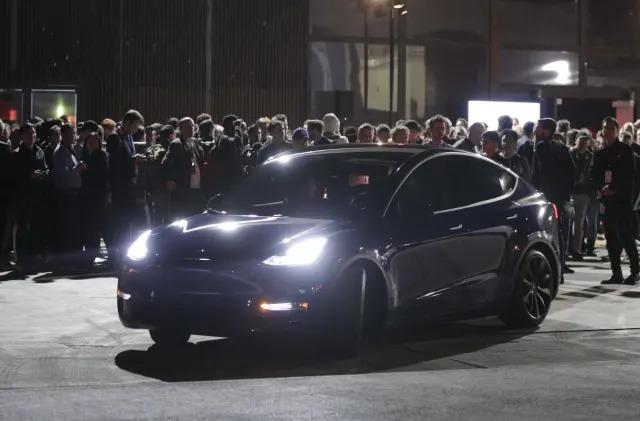 Riding in Tesla's very quick Model Y crossover