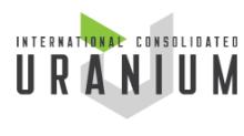 International Consolidated Uranium Announces Grant of Options