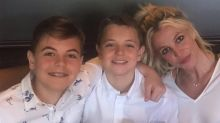 Britney Spears Is 'Very Happy' to Be Back Home & Will Spend the 'Weekend with Her Boys:' Source