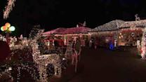 Holiday display raises donations for Sandy victims