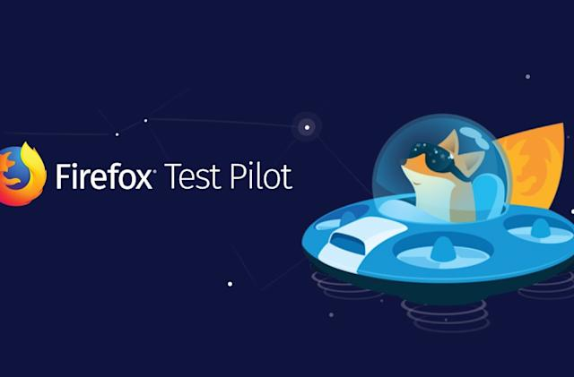 Mozilla's Firefox Test Pilot Program relaunches with a 'Private Network' extension