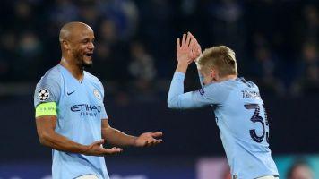 Oleksnadr Zinchenko shed a tear over 'life legend' Vincent Kompany's Manchester City exit