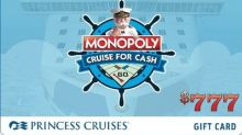 Princess Cruises Introduces MONOPOLY Cruise for Cash Promotion - a Chance to Play Slots to Win $200,777 in Cash and Prizes