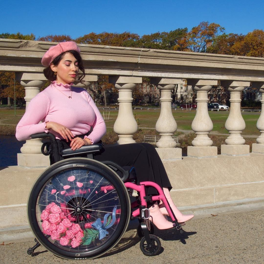Image result for Blogger reveals why she makes use of wheelchair as fashion