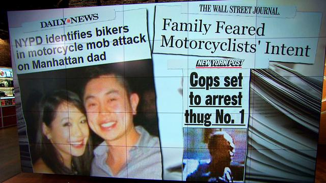 NYC road rage incident alleged attacker ID'd, wife of victim speaks out
