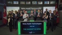 Reliq Health Technologies Inc. Opens the Market