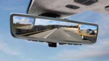 Aston Martin and Gentex show off tri-camera rearview mirror system for CES