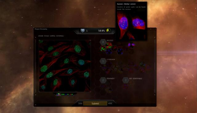 EVE Online's new minigame puts players to work, for science