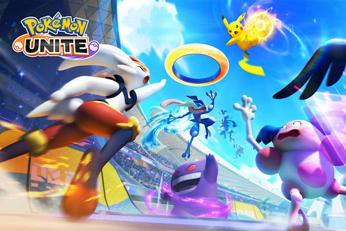 'Pokemon Unite' for Switch and mobile