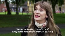 British firm creates face mask that 'disables' the virus