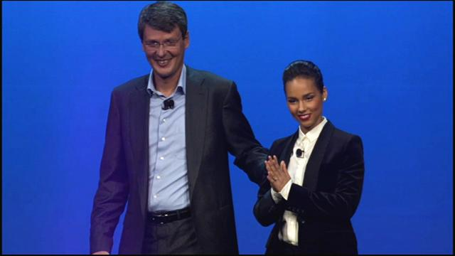 Singer Alicia Keys reunites with BlackBerry,  joins company