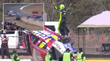 SuperUtes driver's epic response to horror rollover