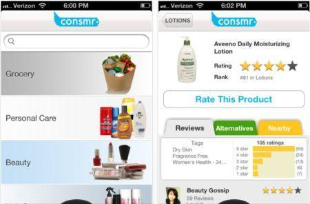 Daily iPhone App: Consmr makes grocery comparisons easy