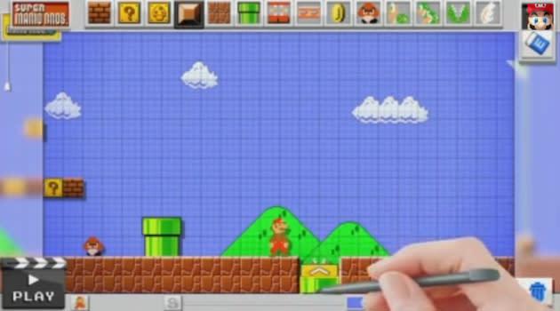 Nintendo teases 'Mario Maker' for creating custom Mario levels on Wii U