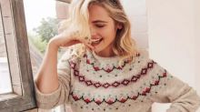Shoppers left in stitches after spotting 'rude' pattern on £56 FatFace Christmas jumper
