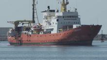 630 migrants rescued from the Mediterranean disembark in Spain