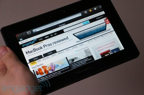 BlackBerry PlayBook 4G LTE hands-on