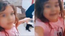 """Esta niña hizo el Lip sync más épico de TikTok con su """"Qué linda te ves trapeando Esperancita…"""""""
