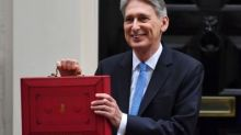 Chancellor Philip Hammond ditches Budget red box for pared-back spring statement