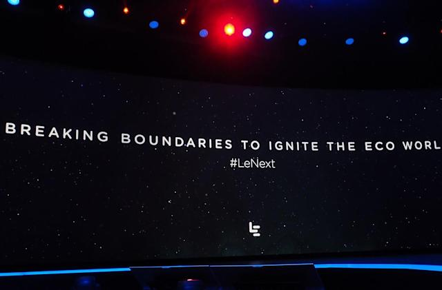LeEco jumps into the US market with TVs, phones, a car and a bike