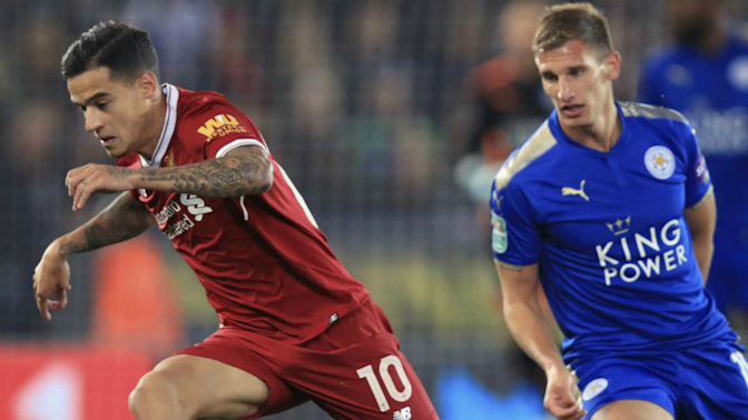 Watch live: Liverpool does battle with Leicester