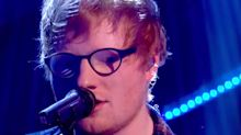 Oops! Ed Sheeran forgets the lyrics to his own song