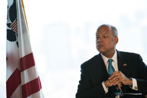 Former Secretary of Homeland Security Jeh Johnson.