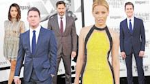Amber Heard Wears a Double Slit Well at the Amsterdam Premiere of 'Magic Mike XXL'