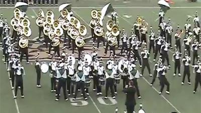 Marching Band Performs 'Party Rock Anthem'