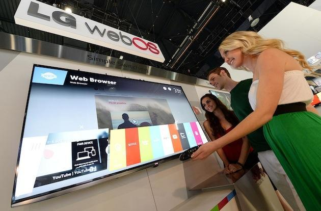 LG teases webOS for most of its smart TVs, Life Band Touch with Android, iOS sync