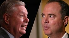 Graham praises Schiff on impeachment presentation: 'You're very well-spoken'