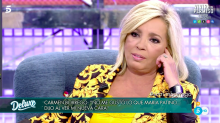 "Carmen Borrego: ""Me arrepiento de haberme operado"""